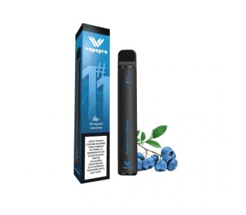 Tigara electronica VapePro - Blueberry Intense (800 pufuri)
