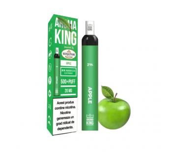 Narghilea Electronica Aroma King by Senator - Apple (500 pufuri)