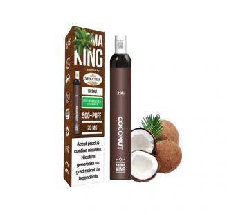 Narghilea Electronica Aroma King by Senator - Coconut (500 pufuri)