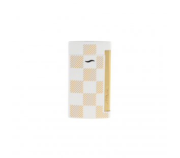 Bricheta Slim 7 White Checked S.T. Dupont