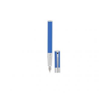 Stilou D-Initial Blue&Chrome S.T. Dupont