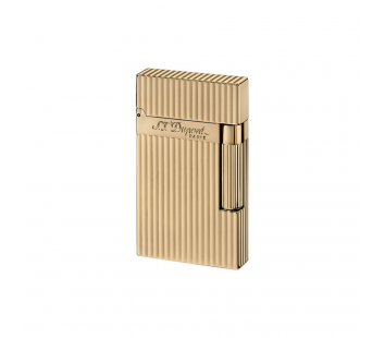 Bricheta L2 Gold Plated Vertical Lines S.T. Dupont