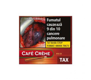 Tigari de foi Cafe Creme Red (10)