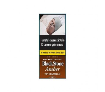 Tigari de foi BlackStone Tip Cigarillos Amber (5)