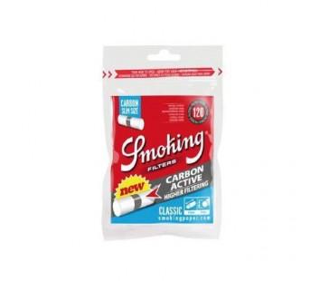 Filtre Smoking Classic Slim Carbon (120)