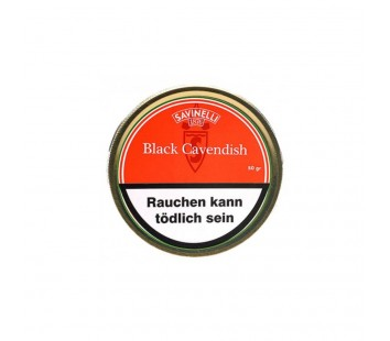 Tutun de pipa Savinelli Black Cavendish (50g)