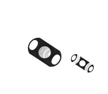Cutter Angelo Plastic 2 lame (negru/argintiu)