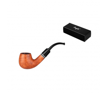 Pipa Angelo Pipe Curved (maro deschis)