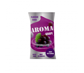Aroma Flavor Card Grape