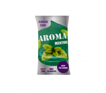 Aroma Flavor Card Menthol