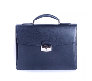 Geanta Briefcase Line D Black 1 Partition 181301