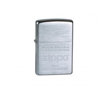 "Bricheta Zippo ""If you love your life"""