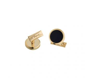 Butoni Round Black & Gold S.T. Dupont