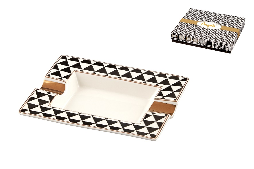 Scrumiera Angelo Ceramica (model geometric)